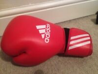 Adidas 10oz boxing gloves (RRP £99) barely used