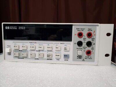 Hp Agilent34401a6.5 Digital Multimeter