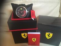 Brand new Ferrari watch with tags and 2 year guarantee