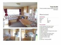 CHEAP STATIC STARTER CARAVAN FOR SALE, NOT WHITLEY BAY, NOT AMBLE LINKS, FIRST TO SEE WILL BUY