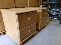 2x bedside for sale