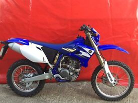 YAMAHA WR250F 2007 PLATE ONLY 160 MILES (160) MILES FROM NEW!! EXCELLENT CON!!!