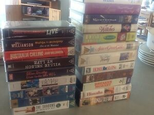 VHS Video cassette (21 in number) Kingston Beach Kingborough Area Preview