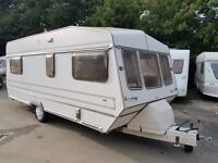 RETRO/VINTAGE TROPHY 5 BERTH CARAVAN WITH AWNING