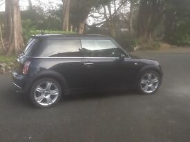 Sept. 2006 One Owner ,from New . 1.6 Petrol Mini 1. Run flat Cooper -S tyres &wheels. V.G.C.