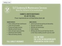 Gardener/Handyman - No Job Too Small