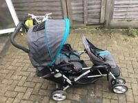 Graco Stadium Duo Pushchair - Double Buggy