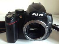 USED NIKON D5000 BODY, USED NIKON AFS 35MM F1,8 G DX LENS , SanDisk 16GB SDHC 80MB/s