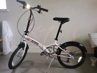 Bike - Wheel White Folding Bike