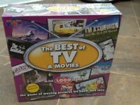 'The Best of TV and Movies' Board Game. New.
