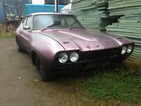 Ford Capri mk1 gt modified track spares or repairs project
