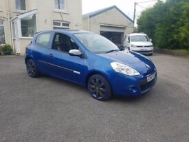 2010 RENAULT CLIO 1.2 16V EXTREME LOW MILES LONG MOT BLUE **IMMACULATE**