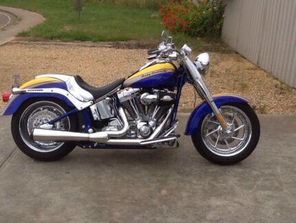 Harley Davidson fat boy flstfse2 screaming eagle cvo