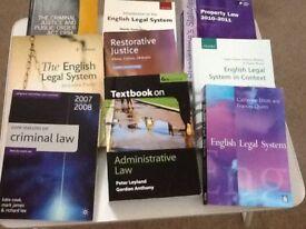 48 UNIVERSITY LAW BOOKS