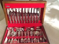 136 piece Canteen of Silver Plate Cutlery