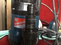Silver line dirty water pump good condition fully working