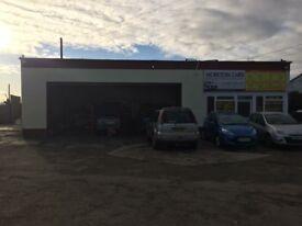 Workshop garage to rent