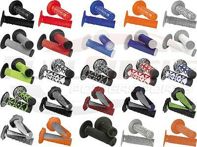 Scott MX Grips For Dirt Bikes With Twist Throttle Motocross Off-Road Motorcycle
