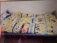 Metal,single beds