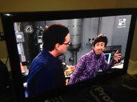 49 inch plasma tv , Samsung , with sound bar , sub woofer ,wall bracket