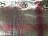 Next Tartan Thermal Curtains