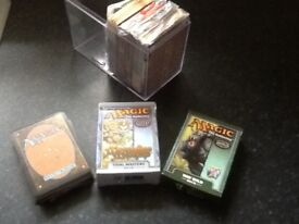 4 pack of Magic the gathering playing cards