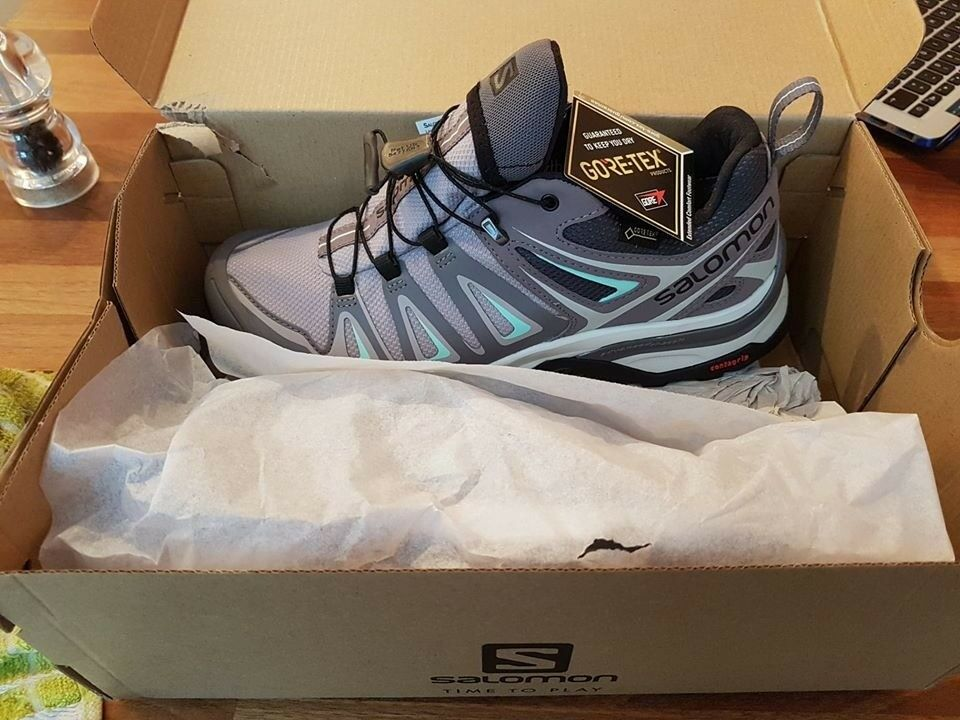 62b6321bea90 SALOMON WOMEN S X ULTRA 3 GTX GORE-TEX W LOW RISE HIKING SHOES SIZE 5.5 UK  - BRAND NEW IN BOX