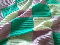 Beanbag Cover, Large Posing Blanket, Bed Blanket, Basket Liner Knitted Blanket Baby Photography Prop