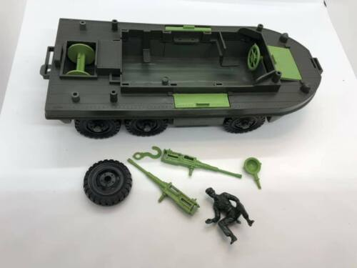 MPC(Multiple Plastic) WWII Amphibious DUKW w/Driver 54mm Toy Soldier Vehicle