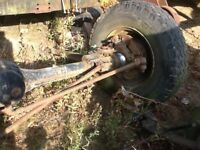 Landrover Defender Front Axle