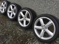 20 inch Audi vw alloys