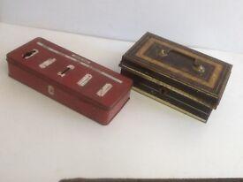 Vintage Money boxes