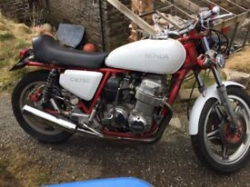 Honda cb750 project sell or swap