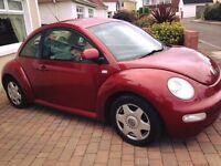 Volkswagon beetle 2ltr 3dr PRICE DROP £850