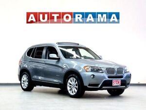 2013 BMW X3 xDrive28i NAVIGATION PANORAMIC SUNROOF LEATHER AWD