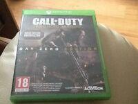 COD Advanced Warfare Day Zero Edition for Xbox one