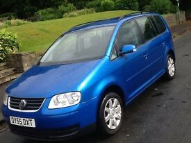 2006 VOLSWAGEN TOURAN 1.9 TDI SE 7 SEATER IN A1 CONDITION!!!