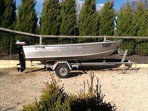 Savage snipe 12 ft dinghy with 15hp mercury Mount Barker Mount Barker Area Preview
