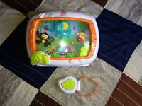 Baby musical box for crib remote included