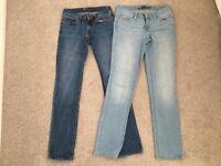 2 New Levi Jeans 26x32