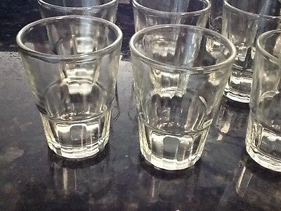 8 pc Shot Glasses Glass Barware,Shots drink aguardiente rum gin vodka 1.5 oz](Shot Glass Bulk)