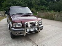 Isuzu Trooper Citation 4X4 LWB 7 seater , full mot 2003 85k miles