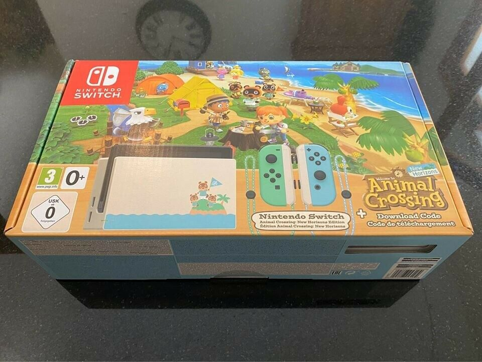 Nintendo Switch Animal Crossing Limited Edition Console ...