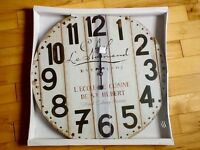 French style rustic wall clock