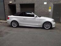 BMW 118D M SPORT CONVERTIBLE WHITE AUTO 2013 QUICK SALE CHEAP NOT AUDI MERCEDES CONVERTIBLE