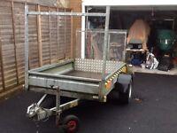 Car trailer. 6 x 4
