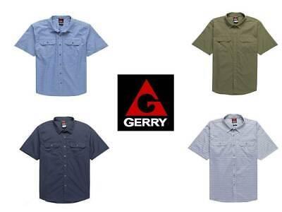 Gerry Men's Short Sleeve Woven Casual Shirt