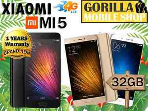 XIAOMI MI 5 4G BRAND NEW SEALED 12 MONTH WARRANTY Strathfield Strathfield Area Preview