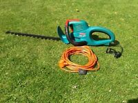 Hedge Cutter - Bosch AHS - 24T. Heavy Duty Electric Hedgetrimmer.