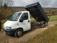 2004 citroen relay lwb tipper low milage